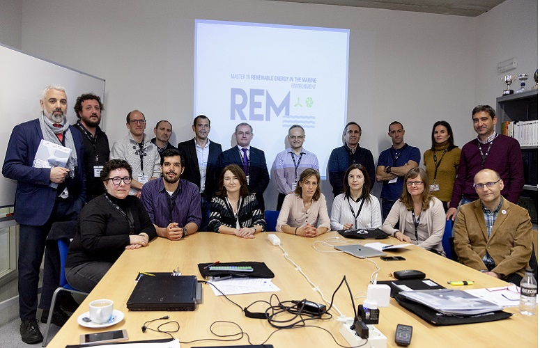 The master in Renewable Energy in the Marine Environment (REM) receives the recognition of the European Education Agency
