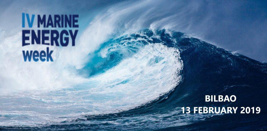 The IV Marine Energy Week will be held on February 13th 2019 in Bilbao
