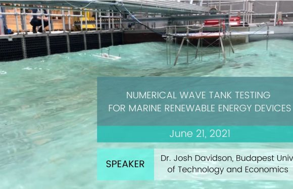Numerical wave tank testing for marine renewable energy devices
