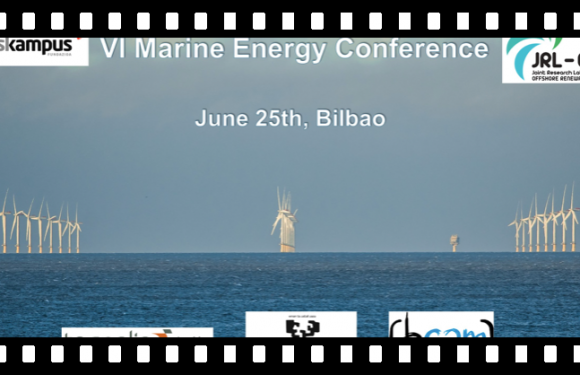 The VI Marine Energy Conference will be held on June 25th in Bilbao with new contents